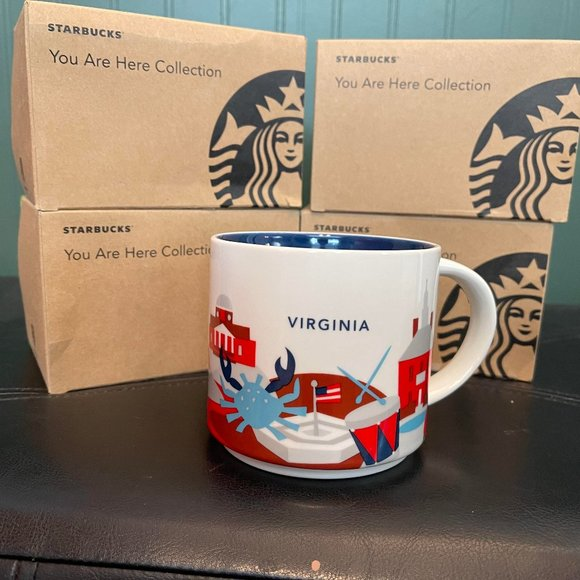 """Starbucks """"You are Here Collection"""" VIRGINIA"""